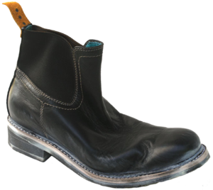 Image of No.0007 INTERCHANGE work chelsea boot Black