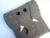 Image of Elephant - iPad sleeve - MADE TO ORDER