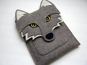 Image of Wolf - iPad sleeve - MADE TO ORDER