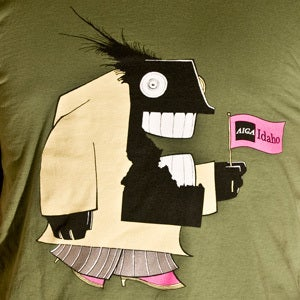 Image of Stefan Bucher - AIGA Idaho Monster T-Shirt