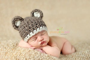 Image of Chunky Brown Bear Hat