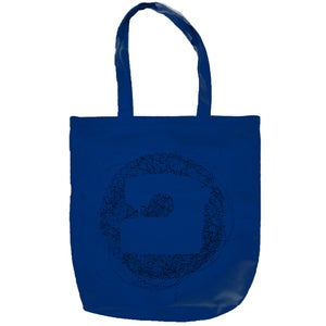 Image of PRINTED BAG - BLUE - KTU FOLK RECORDS