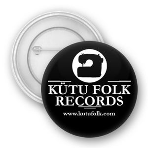 Image of BUTTON - BLACK & WHITE - KÜTU FOLK RECORDS
