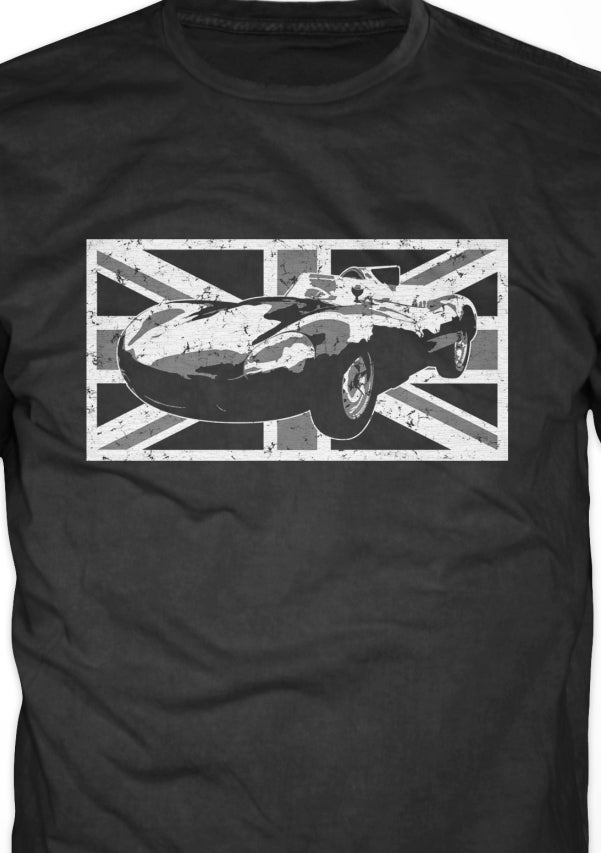 Image of D-type - Jaguar Le Mans Race Car Shirt