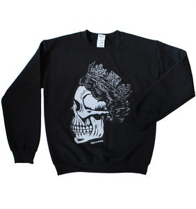 Image of SKULL OF RAWKUS - Black Sweatshirt