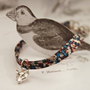 Image of Liberty print fox bracelet