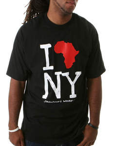 Image of I Africa NY Mens - Blk