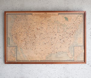 Image of Jorma's Pinned Map of the United States