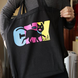 Image of CMYcat Tote Bag