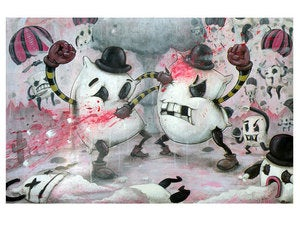 "Image of ""Pillow Fight!!!"" Print ~ Limited Edition"