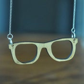 Image of Wooden 'Buddy Holly' Glasses