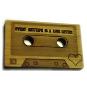 Image of Every Mixtape is a Love Letter Brooch