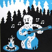 Image of Screen Printed Card: Brokeback Yeti.