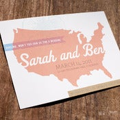 Image of Roadtrip Invitation Set