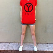 Image of YELLE logo (red) - Tee shirt