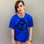 Image of YELLE logo (blue) - Tee shirt