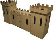 Image of Kid-Eco Large Cardboard Castle