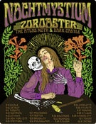 Image of Nachtmystium/Zoroaster/Dark Castle/Atlas Moth 2010 tour poster