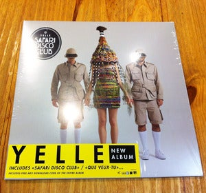 "Image of YELLE ""Safari Disco Club"" album - Vinyl + mp3 card"