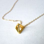 Image of Pyramid Pendant Necklace