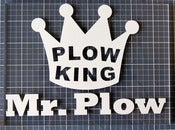 Image of Plow King Sticker