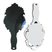 Image of Ornate Record Hand Mirror