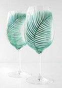 Image of Fern Wine Glasses-Set of 2