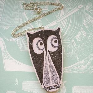 Image of Tito The Owl Necklace
