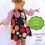 Image of The Raglan Shift Dress sewing pattern