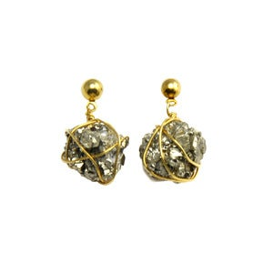 Image of Orion. Meteorite Drop Earrings