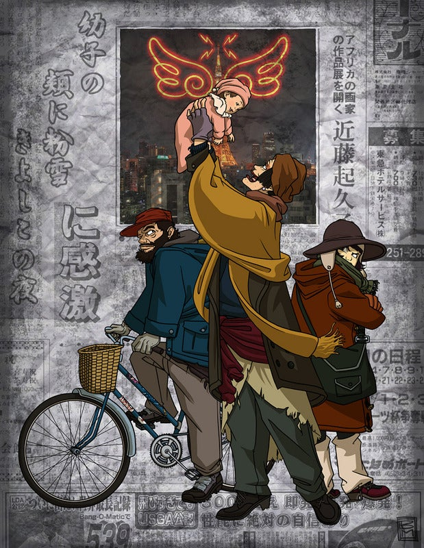 Image of Tokyo Godfathers