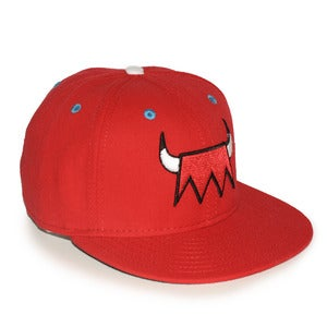 Image of BULLIES HAT | red