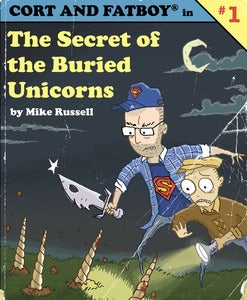 Image of Cort and Fatboy in: The Secret of the Buried Unicorns