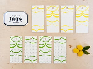 Image of Scalloped Design - gift tags