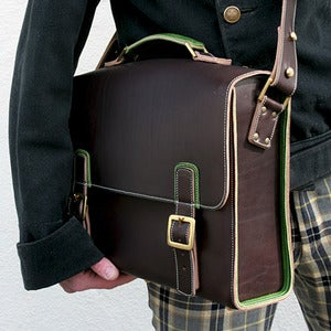 Image of Leather Laptop Bag