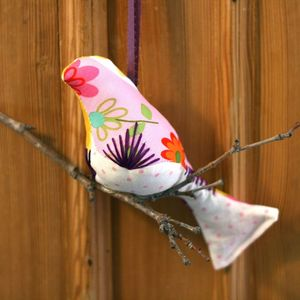 Image of (SALE) Playful Girly Single Bird Mobile (One-of-a-Kind)