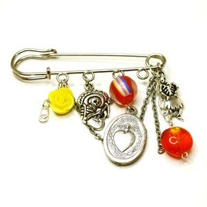 Image of Mexican DOTD Kilt Pin Brooch
