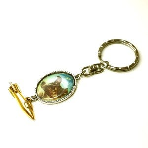 Image of Moon Dog Keyring