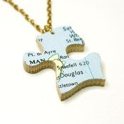 Image of Home Sweet Home - IOM - Necklace