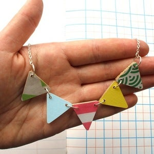 Image of • Spring • Bunting Necklace