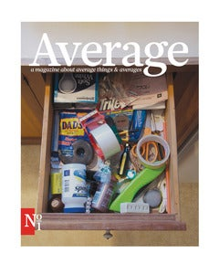 Image of Average Magazine Issue No. 1