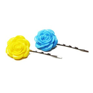 Image of Agata Swedish Rose Hairslides