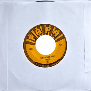 Image of Papa - I Am The Lion King b/w Halloween To Me 7&quot;