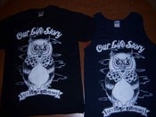 Image of Owl T-shirt / TANKS SOLD OUT