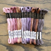 Image of Cosmo Embroidery Floss Palette : Royal Earth