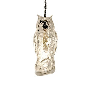 Image of Life-Like Predator Owl Pendant Light