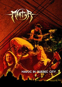 Image of MARTYR - Havoc in Quebec City DVD + bonus CD