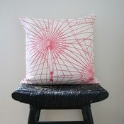 Image of KALAIDASPOKE Linen Cushion Cover 45 x 45 cm, 18 x 18 inch
