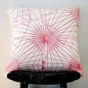 Image of KALAIDASPOKE Linen Cushion Cover 55 x 55 cm, 22 x 22 inch