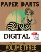 Image of Digital Paper Darts Vol. Three--50% OFF
